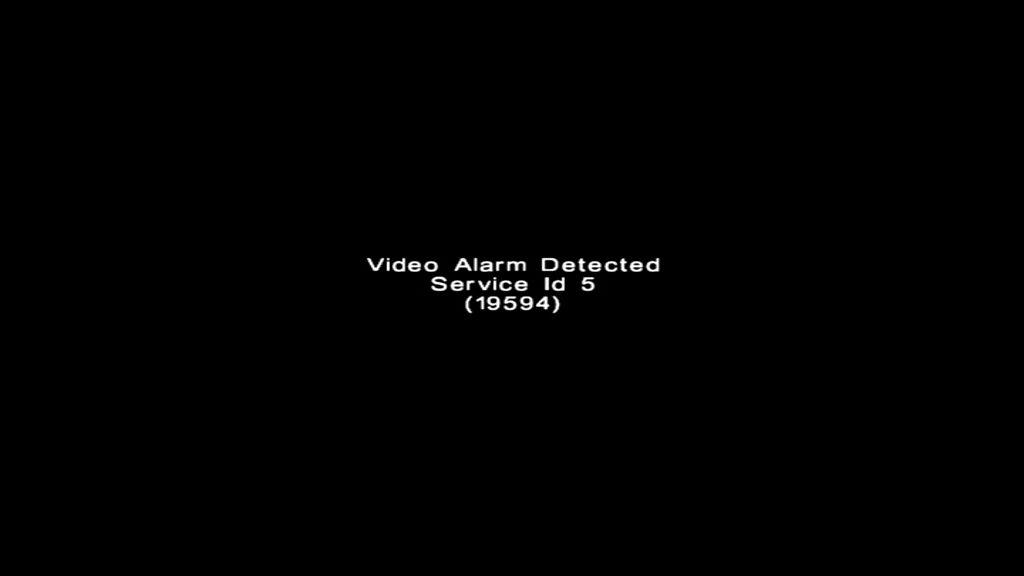 375WRTEVIDEOALARMDETECTED